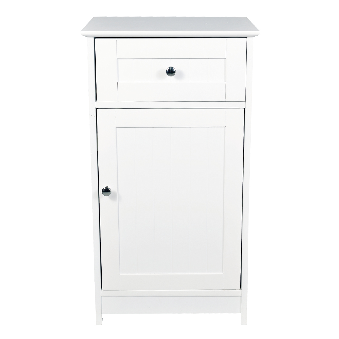 Alaska Low Storage Cabinet White