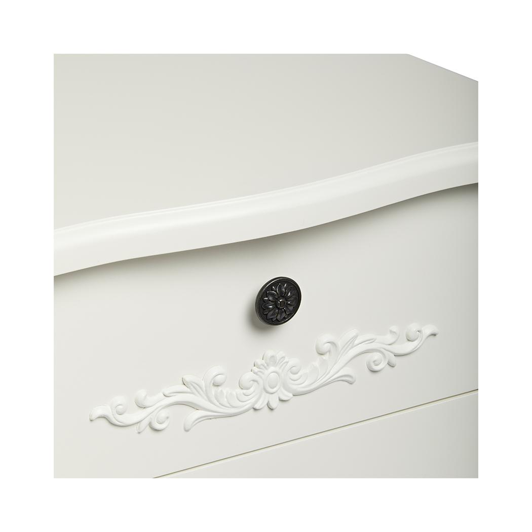 Antoinette 4 Drawer Chest White