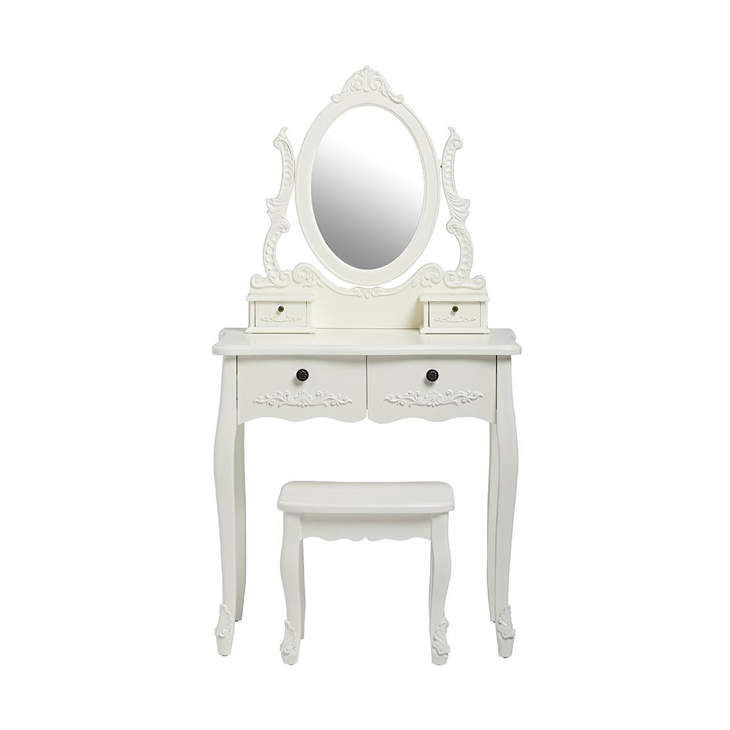 Antoinette Dressing Table White