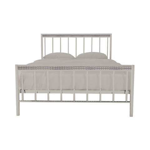 Bellini 4.6 Double Bed Silver