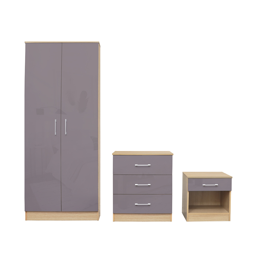 Dakota Bedroom Set Grey