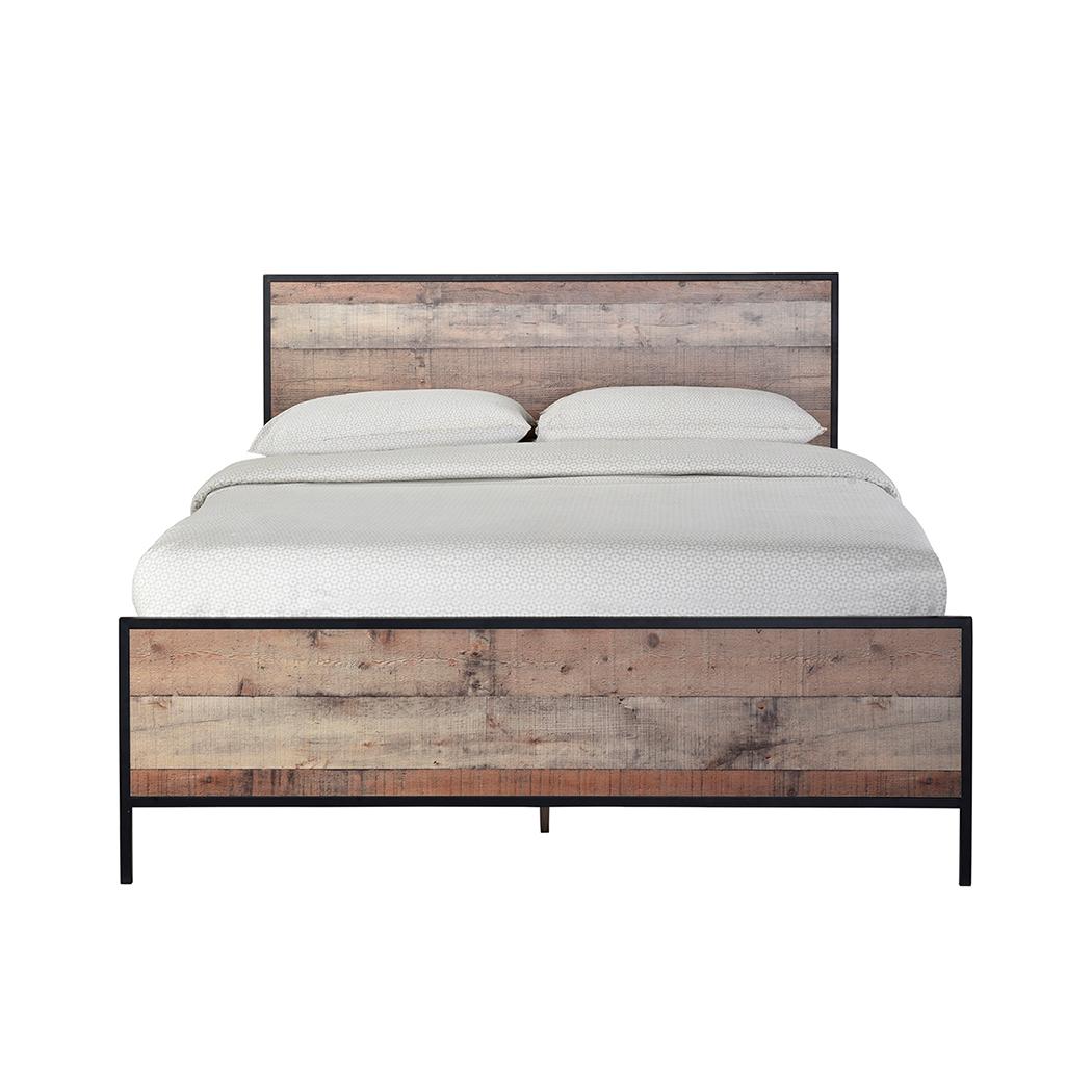 Hoxton 4.6 Double Bed Oak Effect