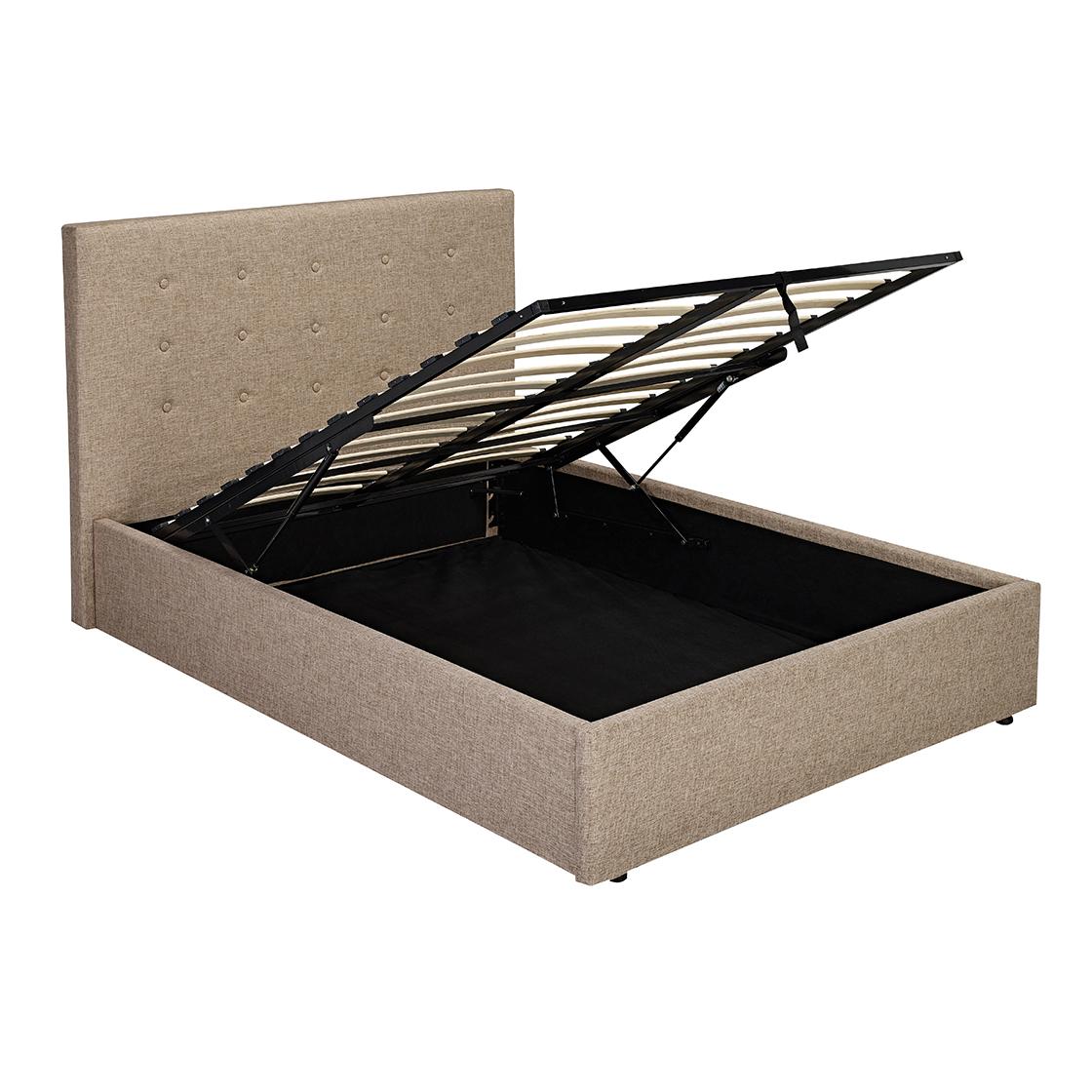 Lucca Plus 4.6 Double Bed Beige