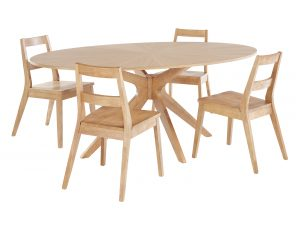 Malmo Dining Table White Oak