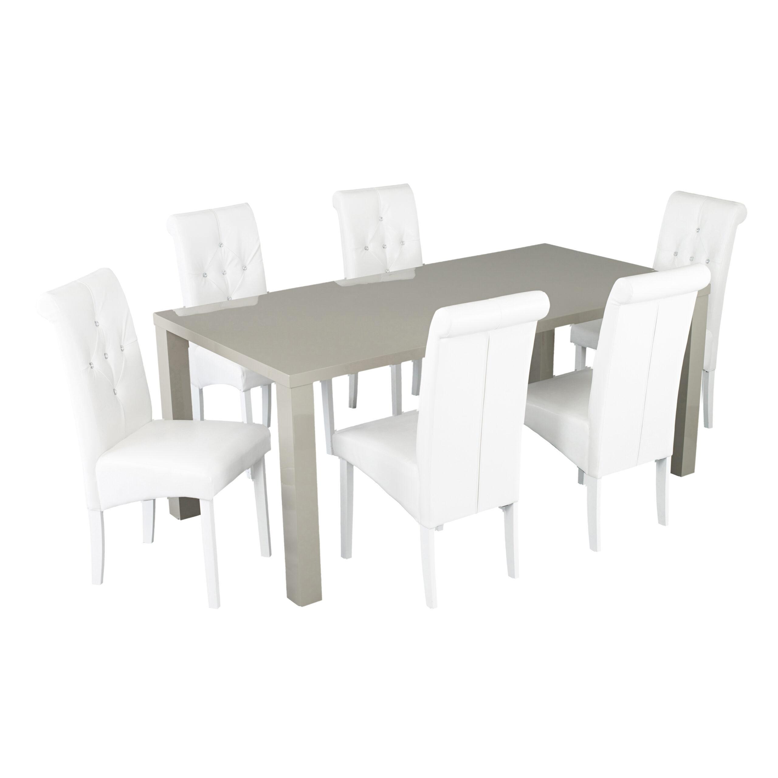 Monroe Puro Large Dining Table Stone
