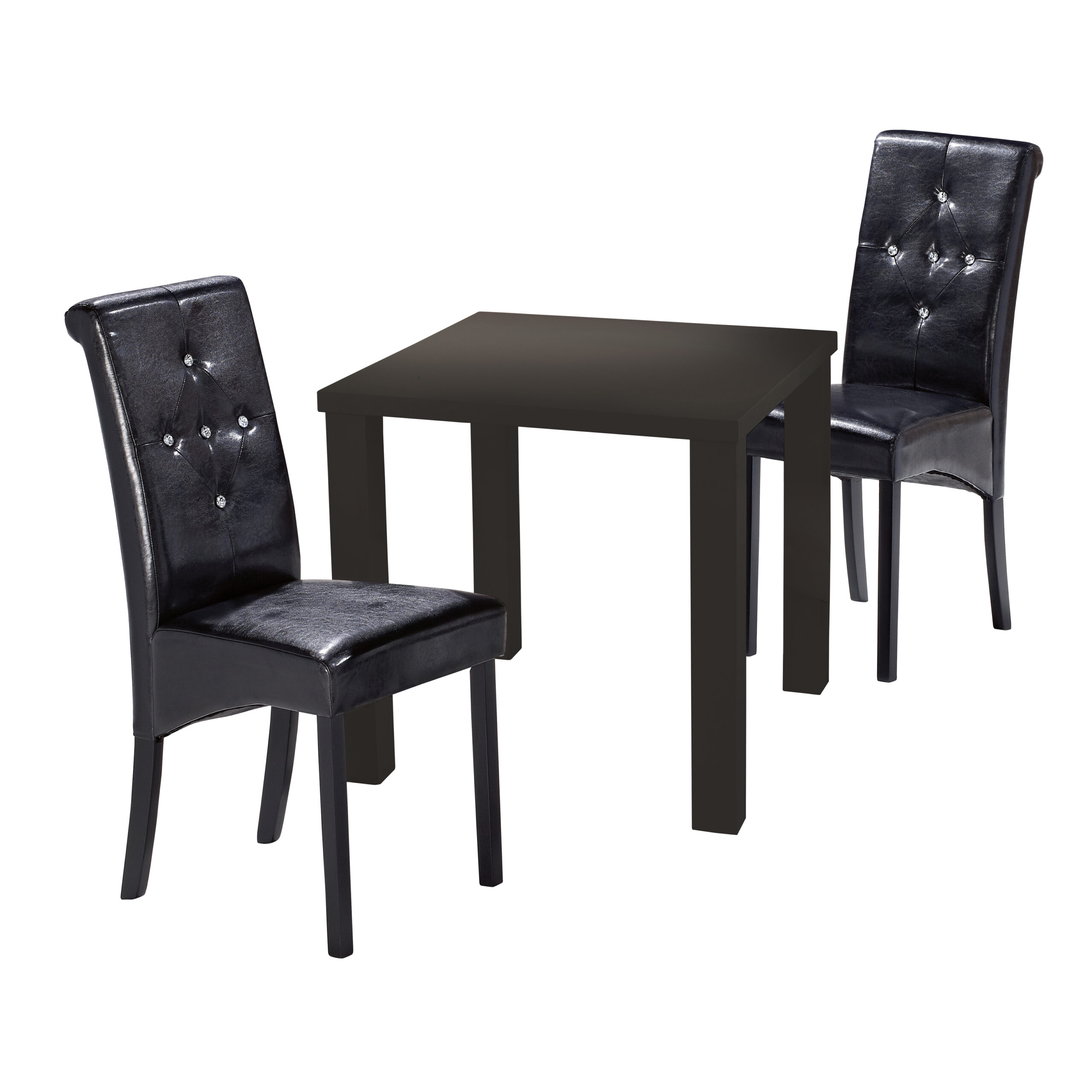 Monroe Puro Small Dining Table Black