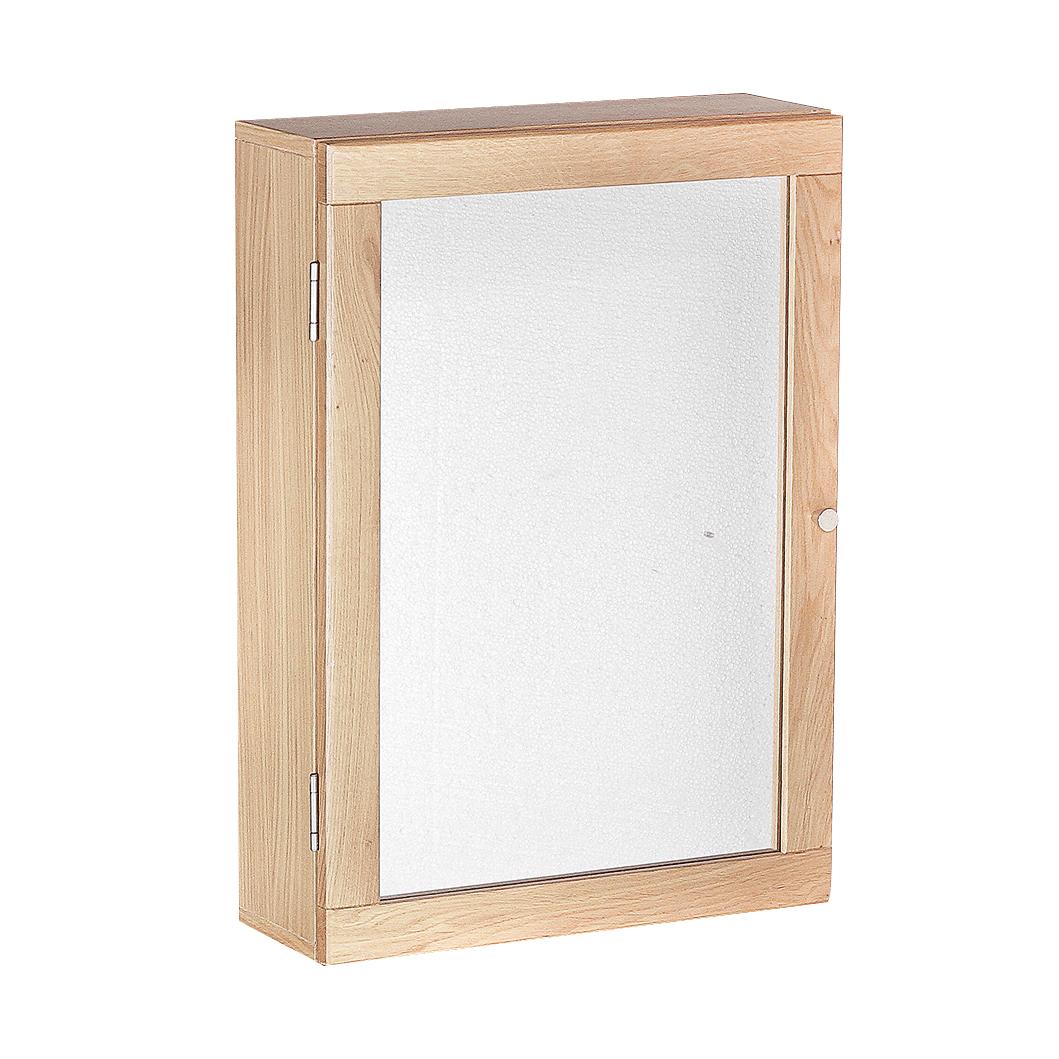 Ocean Wall Mirrored Cabinet Oak