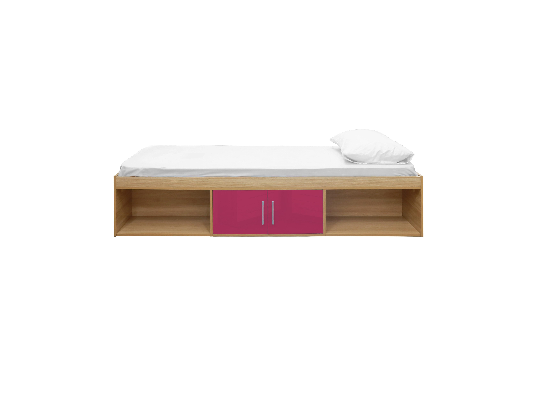 Dakota Cabin Bed Oak-Pink