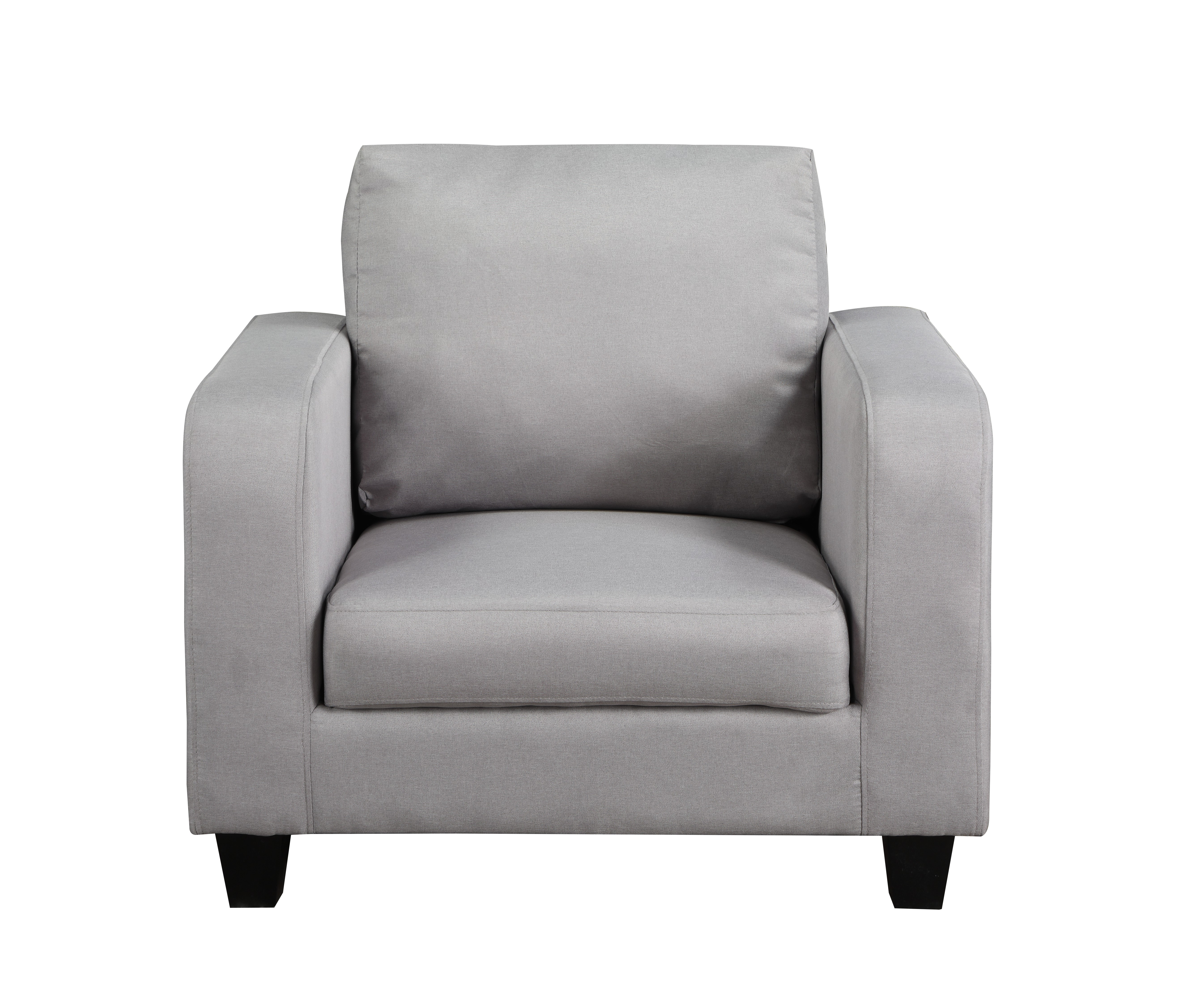 Chair In A Box Grey Fabric
