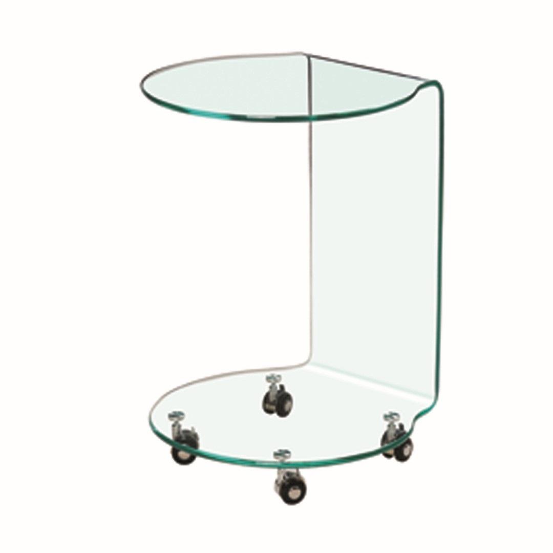 Azurro Lamp Table Glass