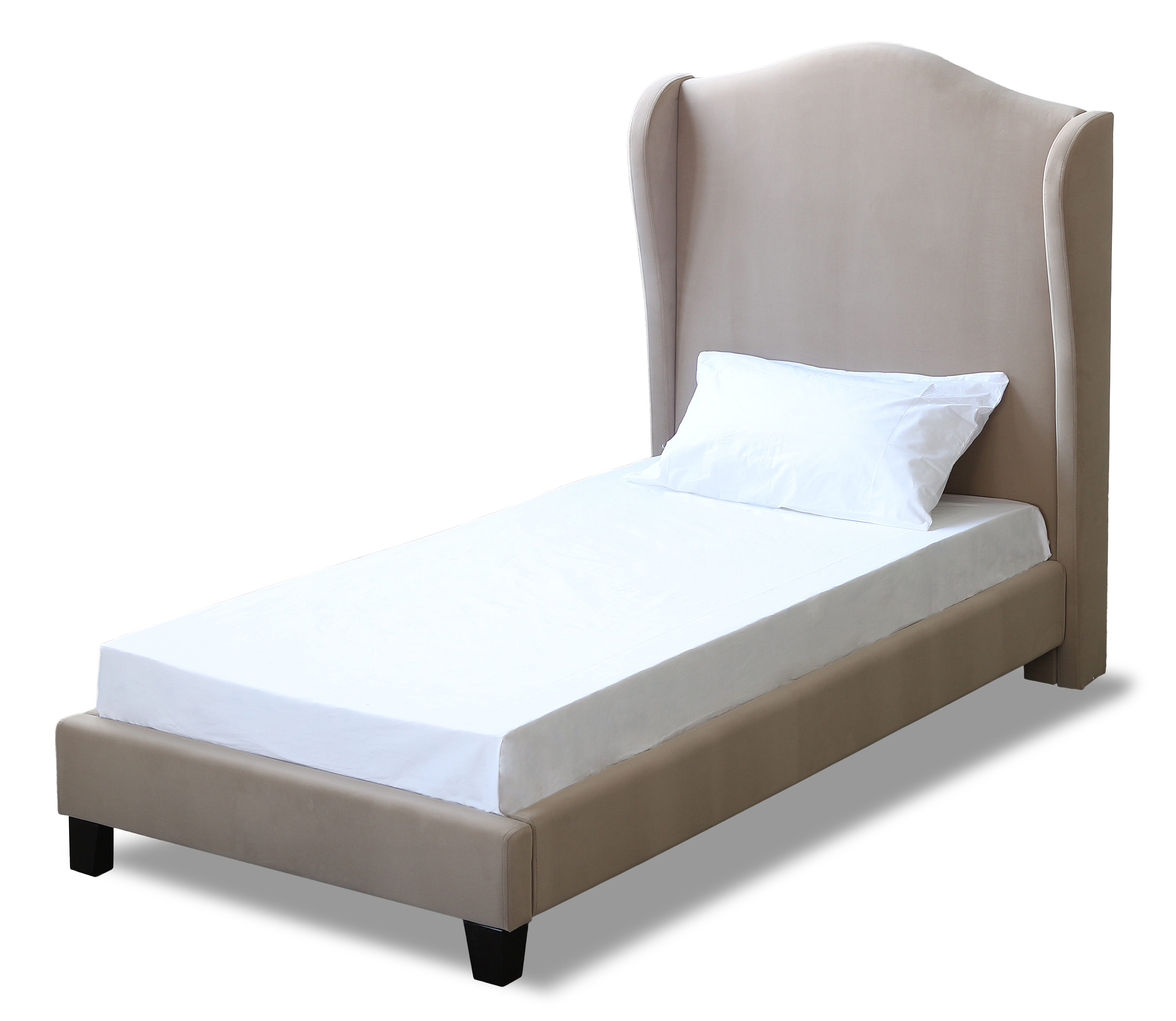 Chateaux 3.0 Single Bed Beige
