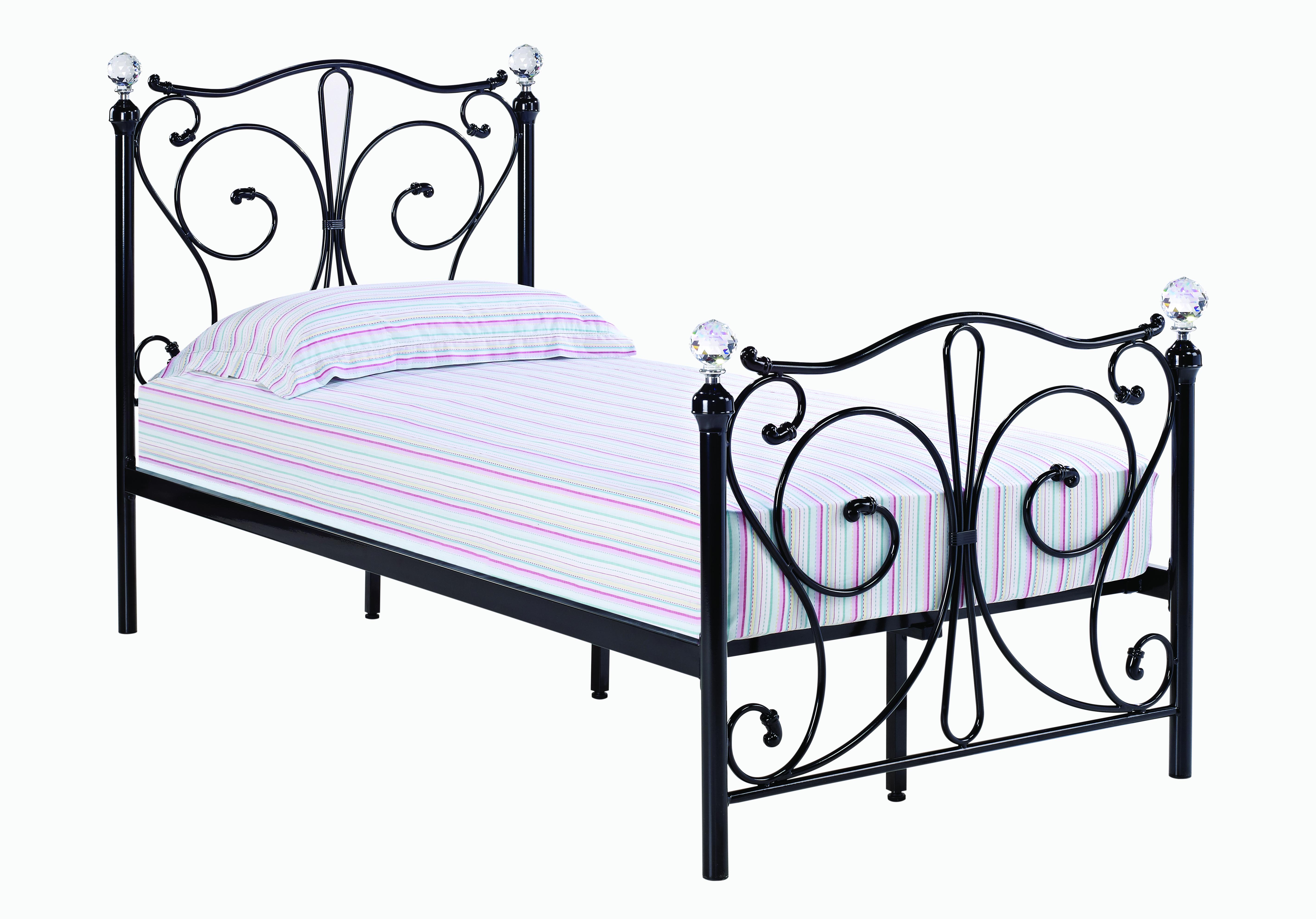 Florence 3.0 Single Bed Black