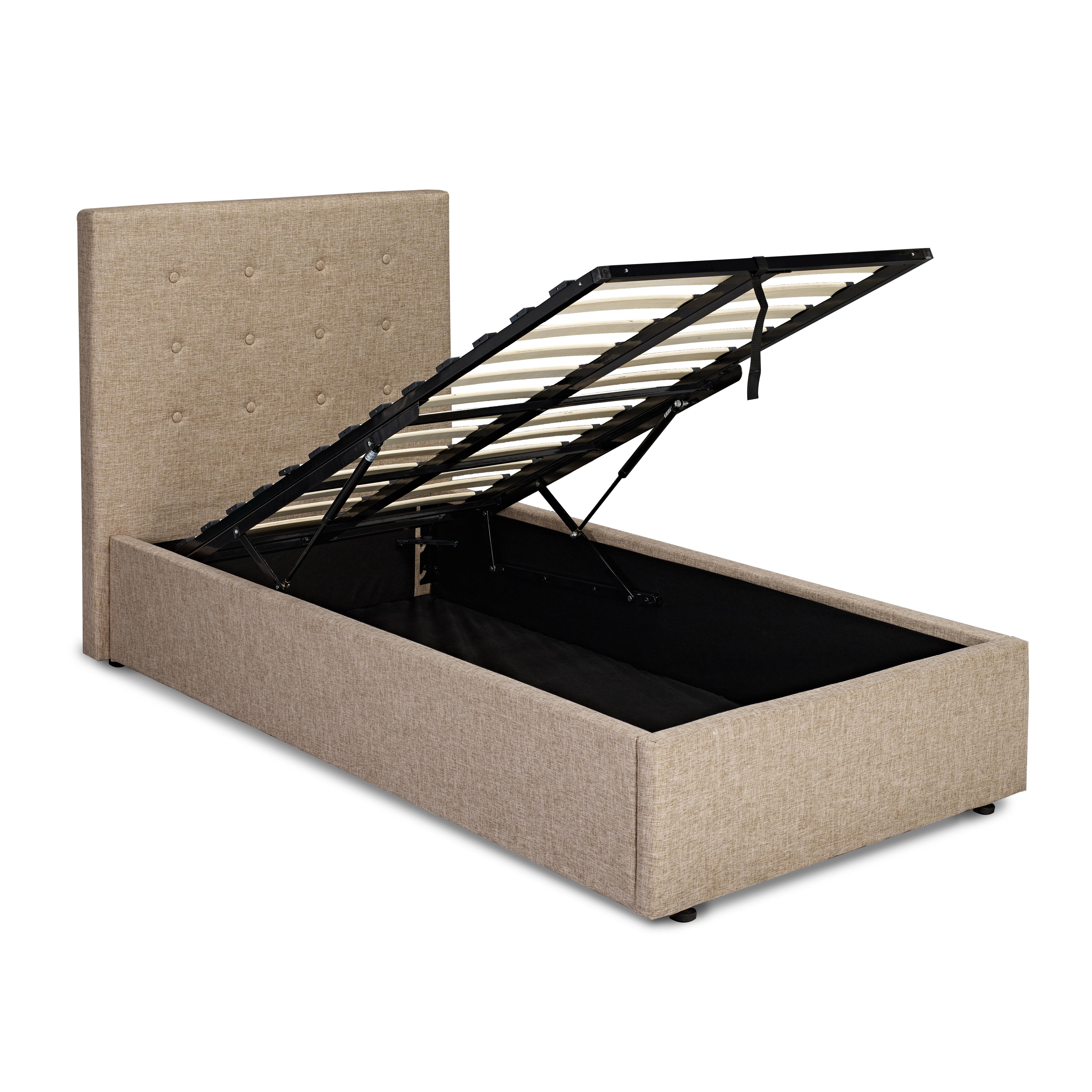 Lucca Plus 3.0 Single Bed Beige