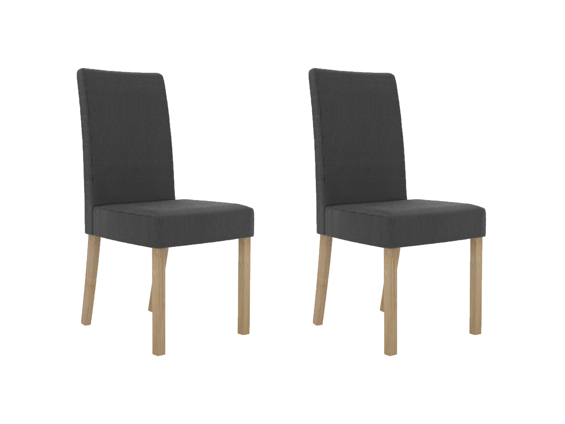 Melodie Chair Charcoal (Pack of 2)