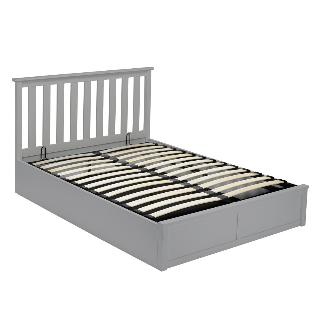 Oxford 5.0 Kingsize Bed Grey