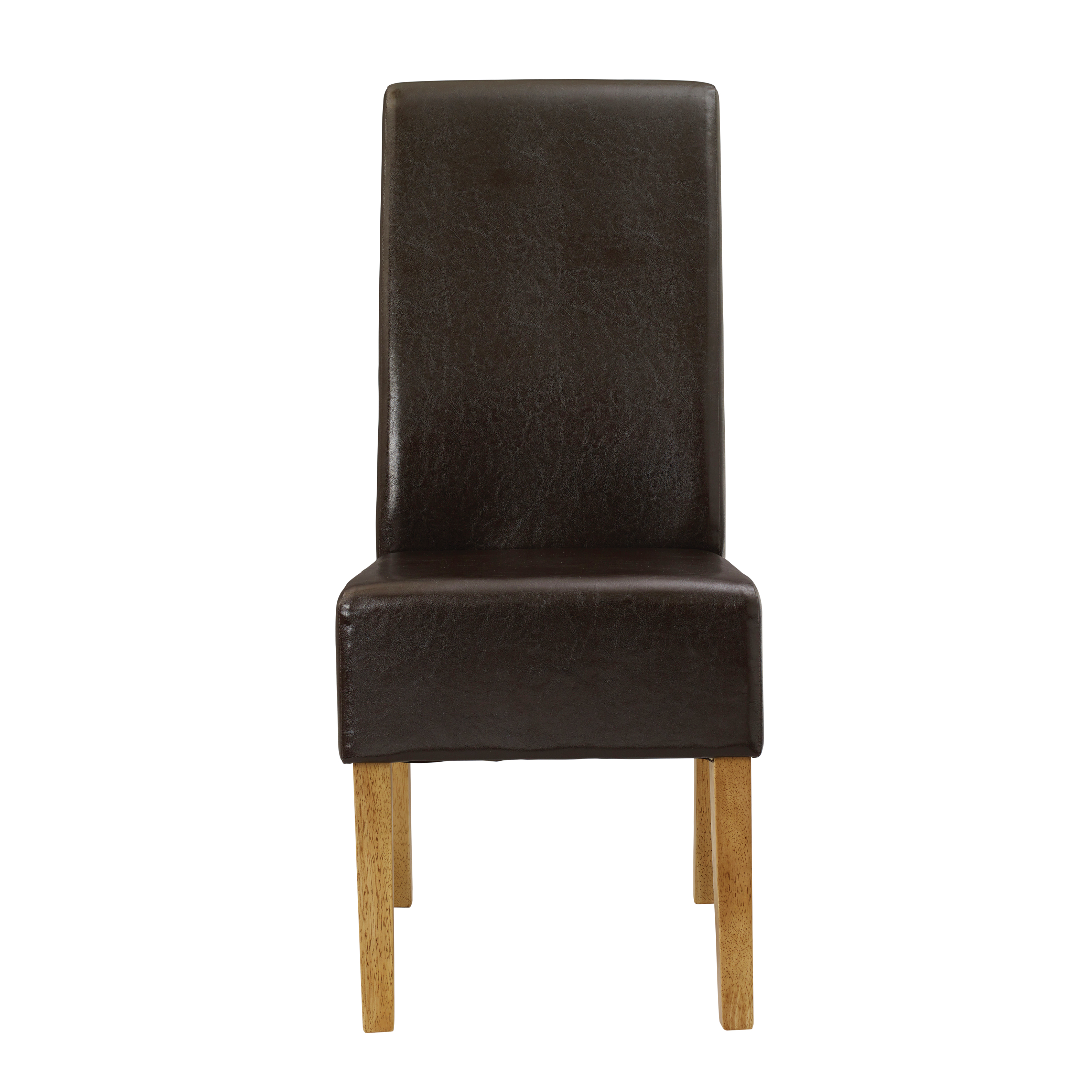 Padstow Chair Brown (Pack of 2)